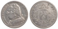 Semi Moderns (1805-1899) 5 Francs 1814 Perpignan ss French Moderns Frank... 200,00 EUR