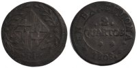 2 Quartos 1808 Barcelone Spain Joseph (Jose) Napolean VF(20-25)  110,00 EUR  +  10,00 EUR shipping