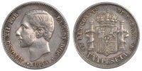 Peseta 1883 Madrid Espagne Alfonso XII AU(50-53)  140,00 EUR  + 6,00 EUR frais d'envoi