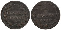 Switzerland 1/2 Batzen 1799 ss+ Foreign Coins Münzen Switzerland, Republ... 130,00 EUR