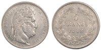 5 Francs 1842 A France Louis-Philippe AU(55-58)  350,00 EUR free shipping