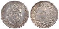 5 Francs 1846 A France Louis-Philippe AU(55-58)  220,00 EUR envoi gratuit