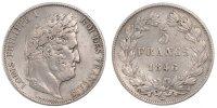 5 Francs 1846 W France Louis-Philippe EF(40-45)  120,00 EUR  +  10,00 EUR shipping