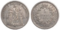 Semi Moderns (1805-1899) 5 Francs 1870 Paris ss French Moderns Frankreic... 280,00 EUR