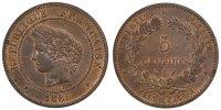 5 Centimes 1889 A France Cérès AU(55-58)  4113 руб 55,00 EUR  +  748 руб shipping