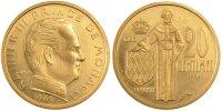 20 Centimes 1962 Monaco  MS(60-62)  75,00 EUR  +  10,00 EUR shipping