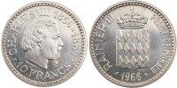 10 Francs 1966 Monaco  MS(65-70)  250,00 EUR envoi gratuit