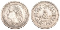 Moderns (1900-1958) 5 Francs 1937 ss French Moderns Frankreich IIIrd Rep... 160,00 EUR