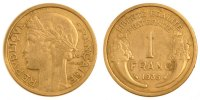 Moderns (1900-1958) 1 Franc 1935 ss French Moderns Frankreich IIrd Repub... 60,00 EUR