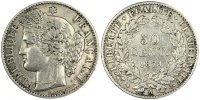 Semi Moderns (1805-1899) 50 Centimes 1871 Paris VF French Moderns Frankr... 80,00 EUR