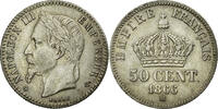 Semi Moderns (1805-1899) 50 Centimes 1866 Strasbourg AU+ French Moderns ... 180,00 EUR