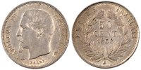 Semi Moderns (1805-1899) 50 Centimes 1858 Paris AU French Moderns Frankr... 180,00 EUR