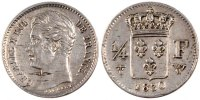 Semi Moderns (1805-1899) 1/4 Franc 1830 Lille VF+ French Moderns Frankre... 90,00 EUR