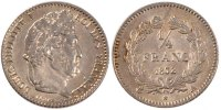 Semi Moderns (1805-1899) 1/4 Franc 1832 Paris AU+ French Moderns Frankre... 200,00 EUR