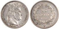 Semi Moderns (1805-1899) 25 Centimes 1846 Paris AU+ French Moderns Frank... 165,00 EUR