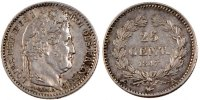 Semi Moderns (1805-1899) 25 Centimes 1847 Paris AU French Moderns Frankr... 75,00 EUR