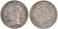 Semi Moderns (1805-1899) 50 Centimes 1872 Bordeaux VF French Moderns Fra... 130,00 EUR