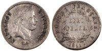 Semi Moderns (1805-1899) Demi Franc 1811 Paris VF+ French Moderns Frankr... 180,00 EUR