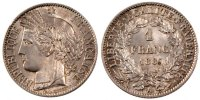 Semi Moderns (1805-1899) 1 Franc 1887 Paris AU+ French Moderns Frankreic... 140,00 EUR