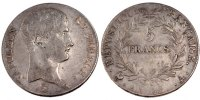 Semi Moderns (1805-1899) 5 Francs 1804 Paris VF French Moderns Frankreic... 250,00 EUR