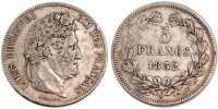 Semi Moderns (1805-1899) 5 Francs 1832 Lille ss+ French Moderns Frankrei... 120,00 EUR