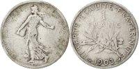 Franc 1903 France Semeuse VF(20-25)  13133 руб 180,00 EUR  +  730 руб shipping