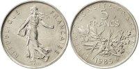 5 Francs 1985 France Semeuse MS(65-70)  110,00 EUR  Excl. 10,00 EUR Verzending