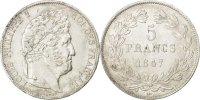 5 Francs 1847 A France Louis-Philippe AU(55-58)  16451 руб 220,00 EUR  +  748 руб shipping