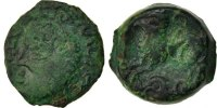 Gallic Bronze Antike Gallic Kelten Remes, Region of Reims, Bronze ATISIOS REMO