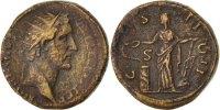 Dupondius   Antoninus Pius EF(40-45)  100,00 EUR  Excl. 10,00 EUR Verzending