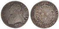 12 Sols, 1/10 ECU 1777 A France 1/10 Écu Louis XVI 1774-1791 Louis XVI ... 110,00 EUR  excl. 10,00 EUR verzending