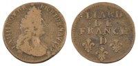 Liard 1697 D Frankreich Liard de France au buste âgé, troisième type Lo... 150,00 EUR