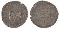 Douzain aux croissants 1557 Poitiers France 1547-1559 Henri II AU(50-53)  220,00 EUR free shipping