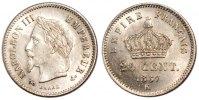 20 Centimes 1867 K France Napoléon III Napoleon III AU(55-58)  333.27 US$ 300,00 EUR  +  11.11 US$ shipping