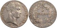 5 Francs 1806 A France Napoléon I AU(50-53)  400,00 EUR envoi gratuit