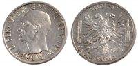 5 Lek 1939 R Albania ALBANIA, Rome, KM #33, Silver, 4.97 VZ+  90,00 EUR  +  10,00 EUR shipping