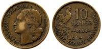 10 Francs 1954 France Guiraud EF(40-45)  88.87 US$ 80,00 EUR  +  11.11 US$ shipping