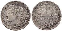 5 Francs 1850 BB Frankreich Cérès EF(40-45)  120,00 EUR