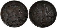10 Centimes 1905 France Dupuis VF(20-25)  90,00 EUR  +  10,00 EUR shipping