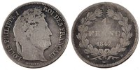 Semi Moderns (1805-1899) 1 Franc 1847 Strasbourg GOOD French Moderns Fra... 75,00 EUR