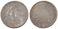 Moderns (1900-1958) 1 Franc 1903 sge French Moderns Frankreich French Th... 130,00 EUR