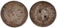 5 Lire 1879 R Italy Umberto I EF(40-45)  95,00 EUR  +  10,00 EUR shipping