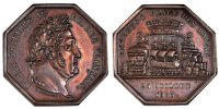 Token 1833 France  AU(55-58)  149.64 US$ 140,00 EUR  +  10.69 US$ shipping