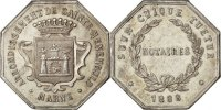 Token 1888 France  MS(60-62)  247.24 US$ 220,00 EUR  +  11.24 US$ shipping