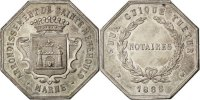 Token 1888 France  MS(60-62)  239.00 US$ 220,00 EUR  +  10.86 US$ shipping