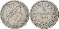 5 Francs 1837 MA France Louis-Philippe VF(30-35)  110,00 EUR  Excl. 10,00 EUR Verzending