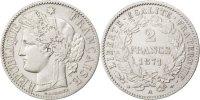 2 Francs 1871 A Frankreich Cérès AU(50-53)  130,00 EUR