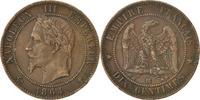 10 Centimes 1864 BB Frankreich Napoléon III Napoleon III AU(50-53)  60,00 EUR  zzgl. 10,00 EUR Versand