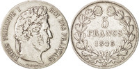5 Francs 1846 W France Louis-Philippe VF(30-35)  78.95 US$ 75,00 EUR  +  10.53 US$ shipping