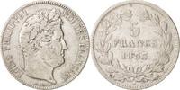 5 Francs 1833 K Frankreich Louis-Philippe VF(30-35)  65,00 EUR